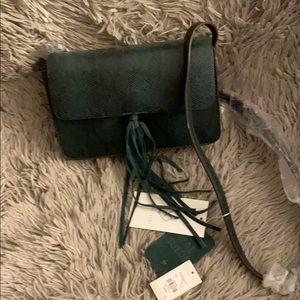 Street Level Green Cross Body Bag.